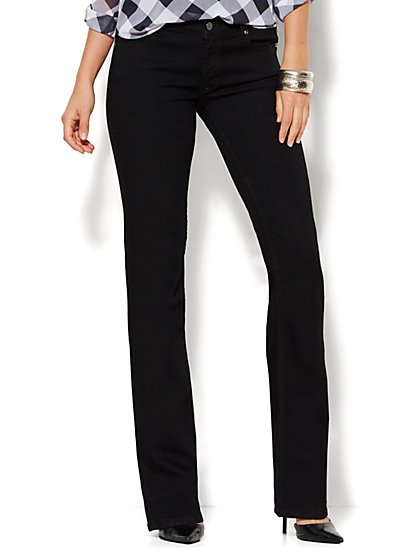 Soho Jeans - Curvy Bootcut - Black - Tall  - New York & Company