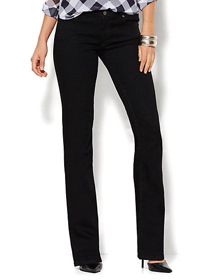 Soho Jeans - Curvy Bootcut - Black  - New York & Company