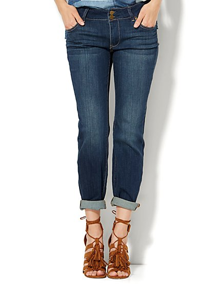 Soho Jeans - Curvy Boyfriend - Flawless Blue Wash  - New York & Company