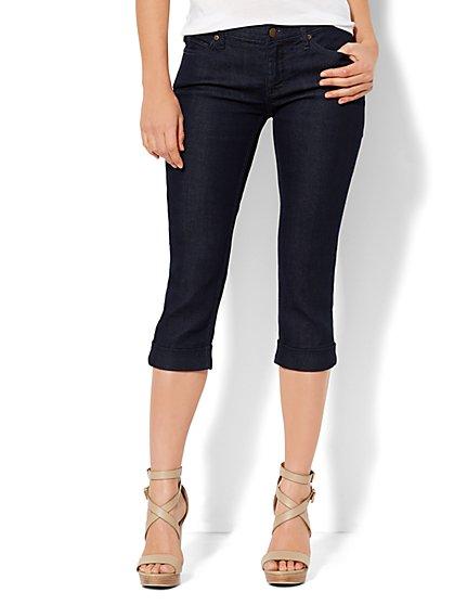 Soho Jeans - Curvy Crop - Rinse  - New York & Company