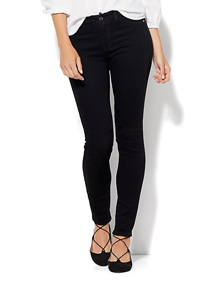 Soho Jeans - Curvy Legging - Black - Tall - New York & Company
