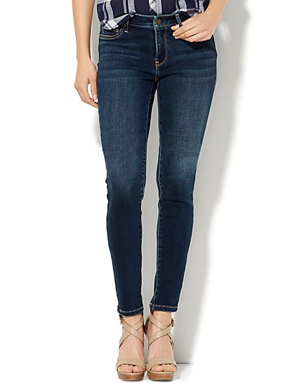 Soho Jeans - Curvy Legging - Flawless Blue Wash - New York & Company