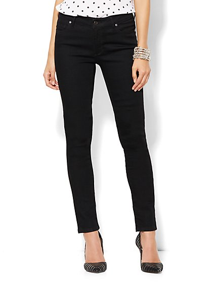 Soho Jeans - Curvy Skinny - Black - Tall  - New York & Company