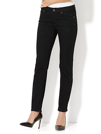 Soho Jeans - Curvy Skinny - Black - New York & Company
