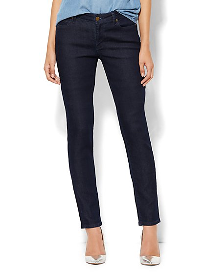 Soho Jeans - Curvy Skinny - Dark Midnight Wash - Petite - New York & Company