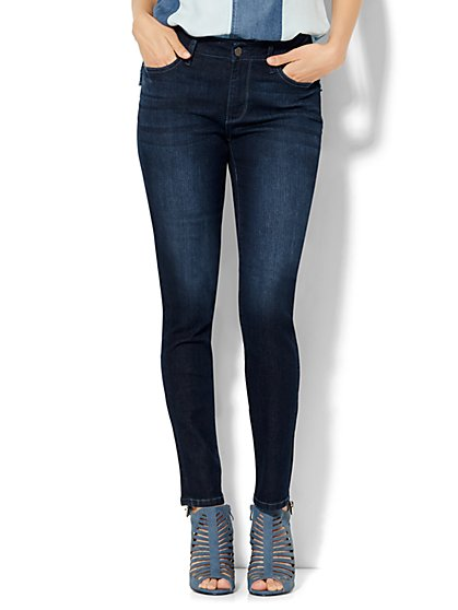 Soho Jeans - Curvy Skinny - Endless Blue Wash - Petite  - New York & Company