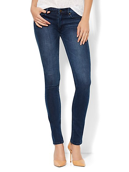 Soho Jeans Curvy Skinny - Rich Indigo Blue Wash - Tall  - New York & Company