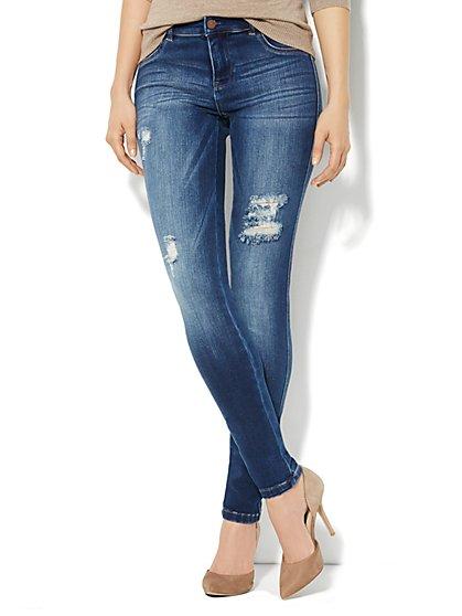 Soho Jeans Destroyed Legging  - New York & Company