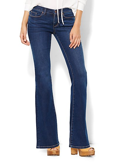 Soho Jeans - Flare - Polished Blue Wash  - New York & Company