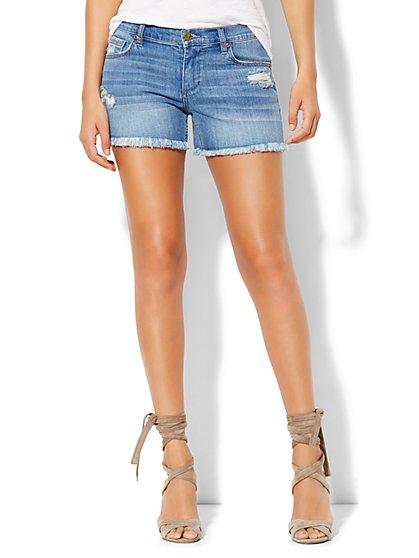 Soho Jeans Frayed-Hem Bowery 4