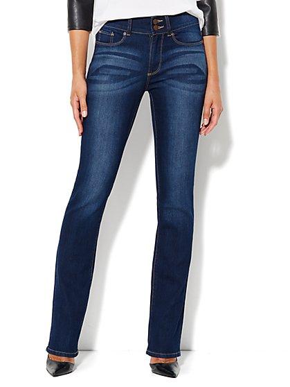 Soho Jeans High-Rise Bootcut - Dark Tide Wash - Average - New York & Company