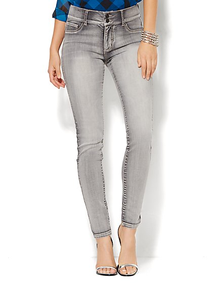 Soho Jeans - High-Waist Legging - Starling Grey Wash - New York & Company