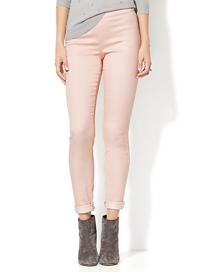 Soho Jeans - High-Waist Pull-On Legging - New York & Company