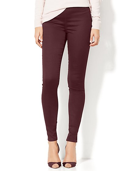 Soho Jeans - High-Waist Pull-On Legging - New York & Company