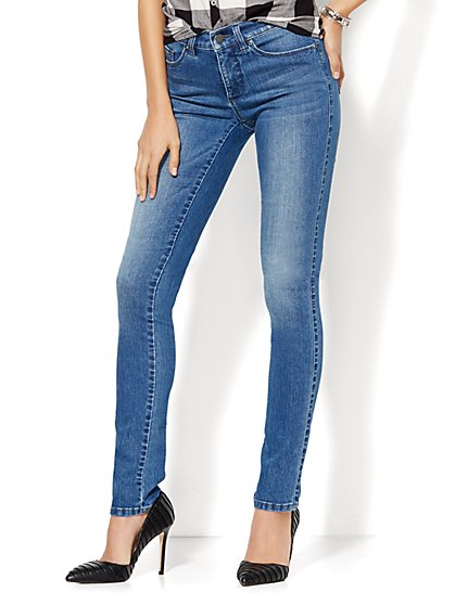 Soho Jeans - Instantly Slimming - Skinny - Heights Blue Wash - Petite  - New York & Company