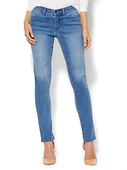 Soho Jeans - Instantly Slimming - Skinny - Heights Blue Wash - Tall - New York & Company