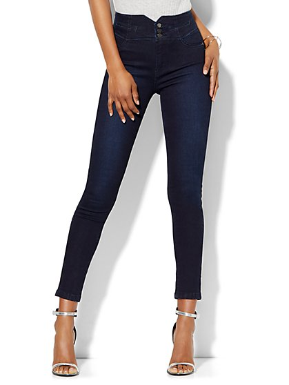 Soho Jeans - Jennifer Hudson Ankle Legging - Picturesque Blue Wash  - New York & Company