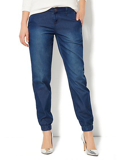 Soho Jeans - Jogger - Emerson Blue Wash   - New York & Company