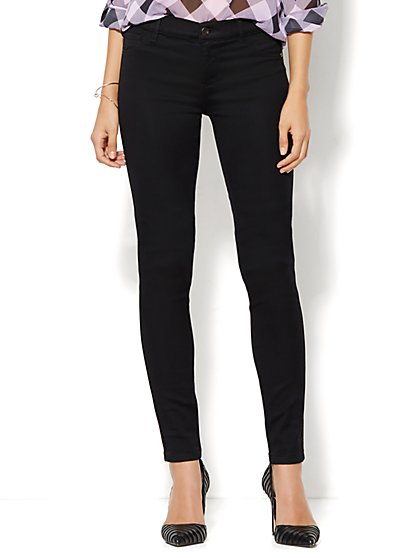 Soho Jeans - Legging - Black - Tall  - New York & Company