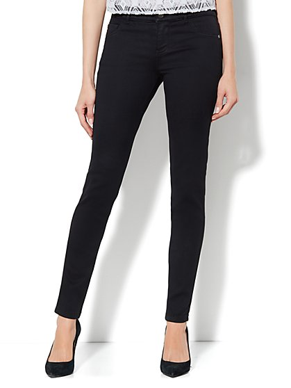 Soho Jeans Legging - Black - New York & Company