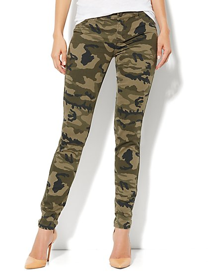 Soho Jeans Legging - Camo  - New York & Company