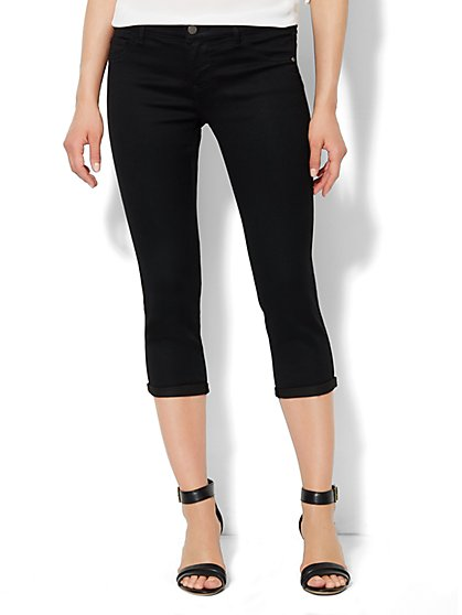 Soho Jeans Legging - Crop - Black  - New York & Company