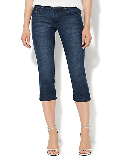 Soho Jeans Legging - Crop - Dark Tide Wash  - New York & Company