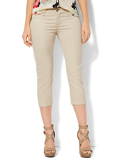 Soho Jeans - Legging Crop - Driftwood  - New York & Company