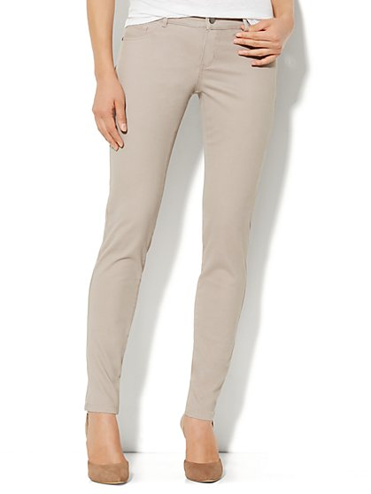 Soho Jeans Legging - Soft Taupe - New York & Company