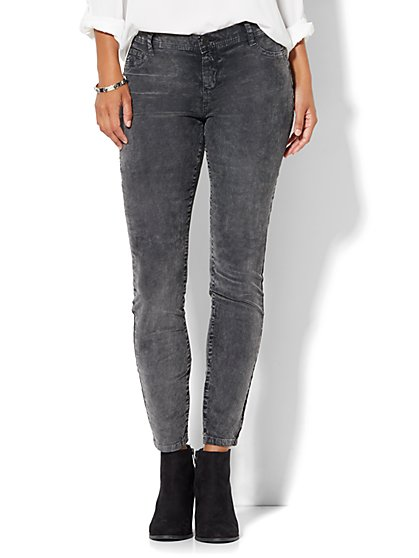 Soho Jeans - Legging - Washed Corduroy  - New York & Company