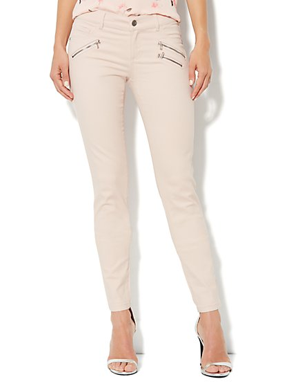 Soho Jeans Legging - Zip Accent