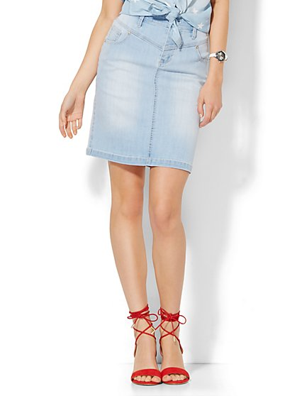 Soho Jeans Mini Skirt  - New York & Company