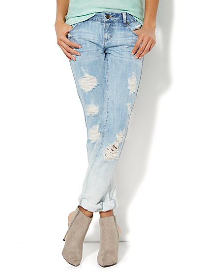 Soho Jeans - NY Boyfriend - Indigo Blue Wash  - New York & Company