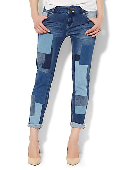 Soho Jeans - New York Boyfriend - Cabana Blue Wash  - New York & Company