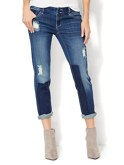 Soho Jeans - New York Boyfriend - Howling Blue Wash  - New York & Company