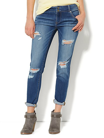Soho Jeans - New York Boyfriend - Indigo Cove Wash  - New York & Company