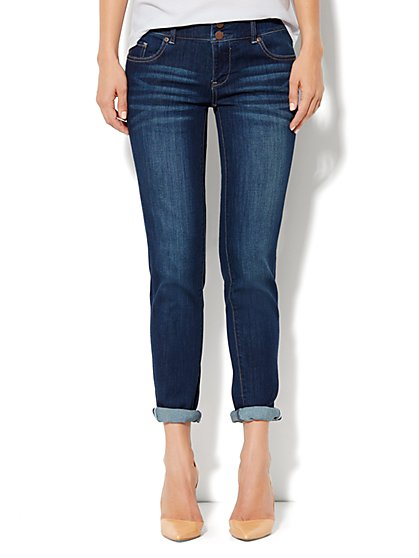 Soho Jeans New York Boyfriend - Millennium Blue Wash - New York & Company