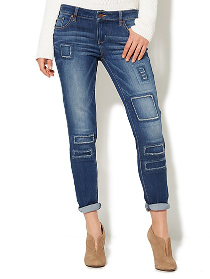 Soho Jeans - New York Boyfriend - Mojave Indigo Wash   - New York & Company