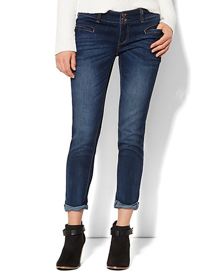 Soho Jeans - New York Boyfriend - Stormy Sky Wash  - New York & Company
