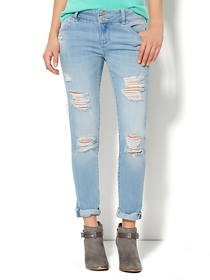 Soho Jeans - New York Boyfriend - Tidal Blue Wash  - New York & Company