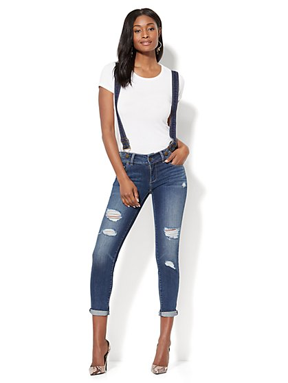 Soho Jeans - Overall - Blue Craze Wash - New York & Company