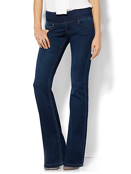 Soho Jeans - Pull-On Bootcut - Highland Blue Wash  - New York & Company