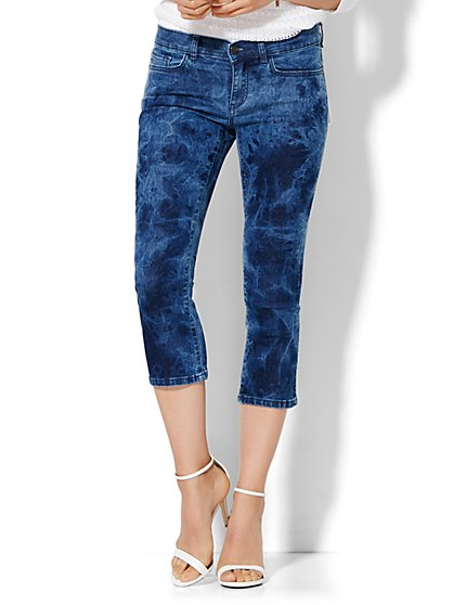 Soho Jeans Skinny Crop  - Blue Trouble Wash  - New York & Company