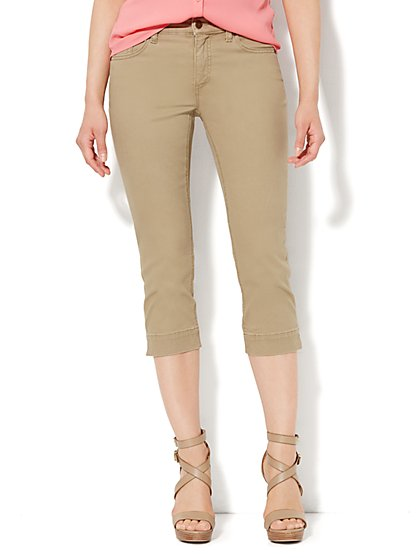 Soho Jeans - Skinny Crop - Willow Brown  - New York & Company