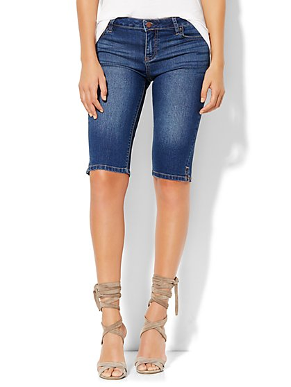 Soho Jeans Slit-Detail Bowery 13