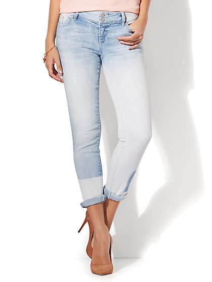 Soho Jeans - Stonewashed Boyfriend - New York & Company