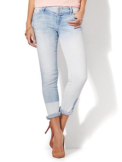 Soho Jeans - Stonewashed Boyfriend - New York & Company