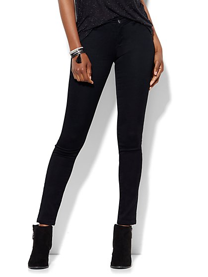 Soho Jeans - SuperStretch Legging - Black - New York & Company