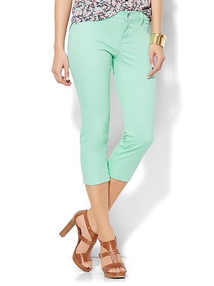 Soho Jeans SuperStretch Legging - Crop - New York & Company