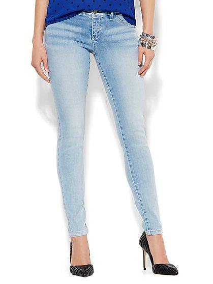 Soho Jeans - SuperStretch Legging - Diamond Blue Wash  - New York & Company